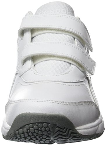 Reebok Herren Work N Cushion Kc 2 Outdoor Fitnessschuhe Blanco / Gris (White / Flat Grey)
