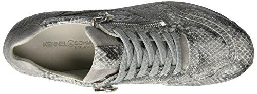 Kennel und Schmenger SchuhmanufakturCat - Scarpe da Ginnastica Basse Donna Grau (grey/light Grey/sohle Light Grey)