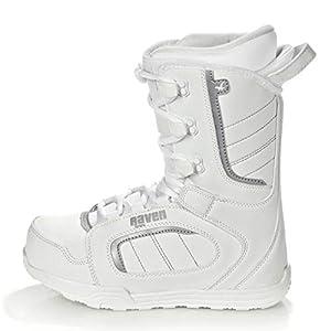 RAVEN Damen Snowboard Boots Pearl White 2019