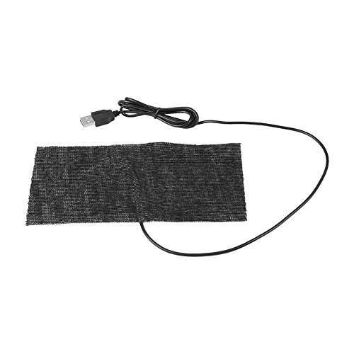 Manta USB 5V Almohadilla Eléctrica Fibra Carbono
