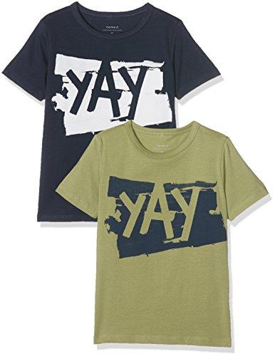 NAME IT Jungen T-Shirt Nitvixa 2 er pack Long Xsl Tank Top Nmt