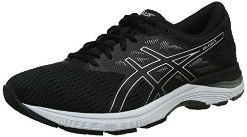 ASICS Men's Gel-Flux 5 Black/Silver/Carbon Running Shoes - 9 UK/India (44 EU)(T811N.9093)