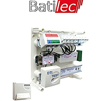 Batilec - Coffret de communication 4 RJ45 Basic