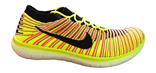 Nike Wmns Free RN Motion Flyknit OC Gelb/Pink (39)