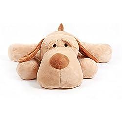 Tumbado de peluche perro de peluche de juguete de peluche, diseño de animales, 23 Inches/60cm