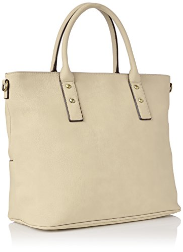 FLY London Damen Guip610fly Shopper, 8x41x33 centimeters Elfenbein (Offwhite)