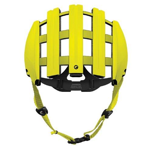 Carrera Radsport-Helm Foldable, Lime, 55-58 cm