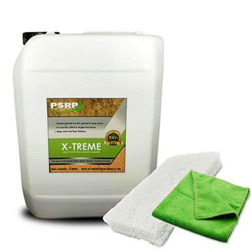 Heavy Duty Tile & Grout Cleaner Xtreme Clean for Stone, Tile and Grout 5 Litre by PSRP