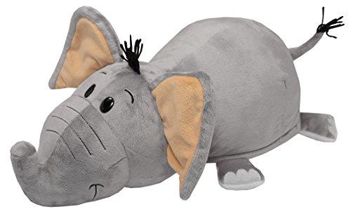 Vivid Imaginations Pupazzo Reversibile, Elefante / Tigre, Collezione Flip a Zoo