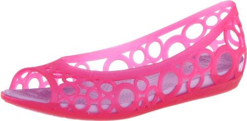 crocs Adrina Flat 11238, Ballerines femme Rose-TR-I2-70