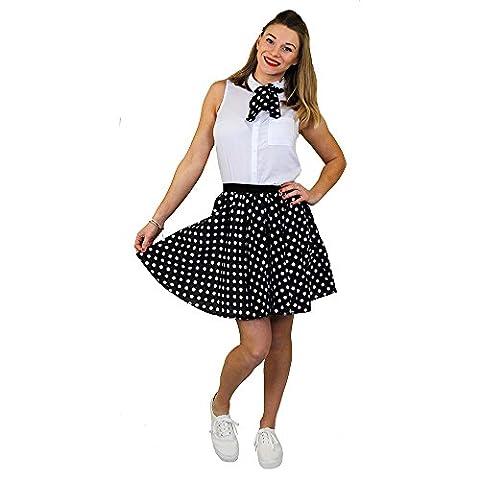 Rock And Roll Danse Costumes Pour Enfants - I Love Fancy Dress ilfd7014ps Mesdames court