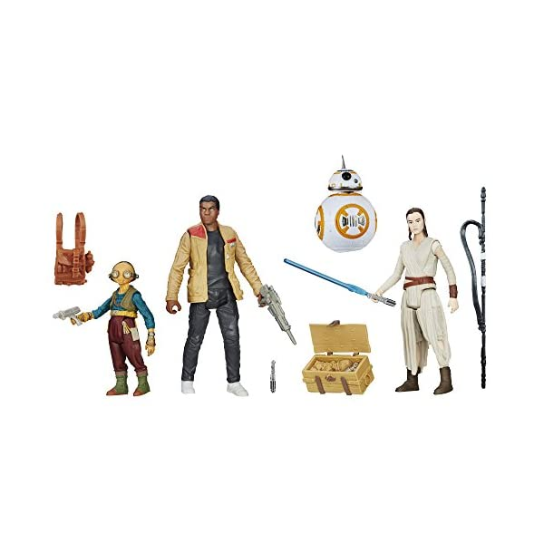 Star Wars B6815, Set El Despertar de la Fuerza, Encuentro en Takodana 1