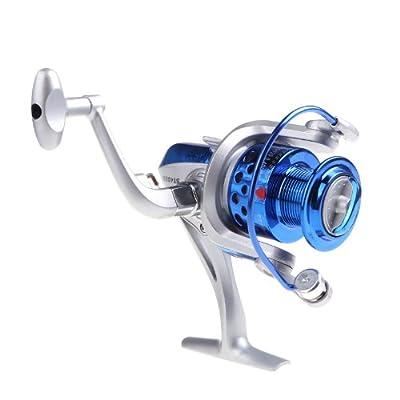 Lixada 8BB Ball Bearings Left/Right Interchangeable Collapsible Handle Fishing Spinning Reel ST4000 5.1:1 by Lixada