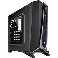 Corsair Carbide Spec-Alpha Boîtier PC Gaming (Fenêtré Moyenne Tour ATX) Noir/Gris
