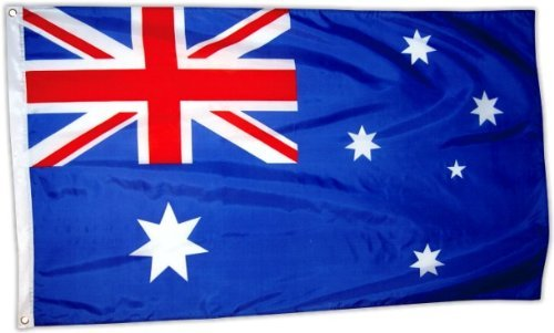 Australian Flag Souvenir! /Souvenir! / Speicher! / Memoria! About 150 cm by 90 cm / 5' x 3' Polyester for Celebrating…