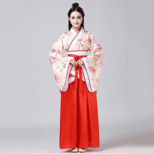 Cxlyq Hanfu Womens Fairy Kostüme Tang Dynasty Clothing Alten Chinesischen Han Klassischen Tanzkostüm Prinzessin Kleid Cosplay - Women's Golf Kostüm