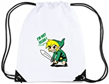 Cotton Island - Mochila Budget Gymsac T1057 i m not zelda film inspired