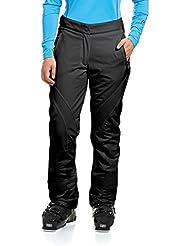 maier sports pantalones de esquí para mujer BI elástico Rosanna 2, otoño/invierno, mujer, color Negro - negro, tamaño 23