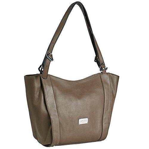 Cherry Paris- Paris- sacchetto porté épaule- cuir- Donna grigio