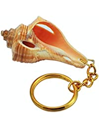 Hand Made Key Ring Key Chain Key Ring Sea Shell Pink Conch Dial Best Finishing