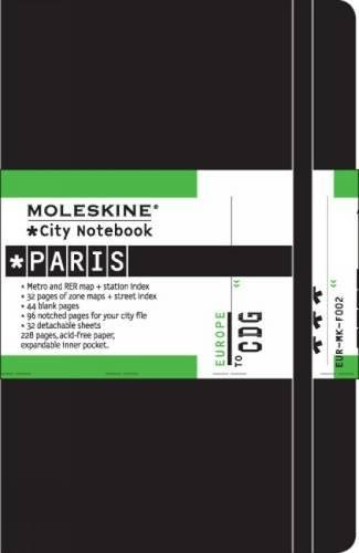 Moleskine S0620X - Cuaderno Paris City