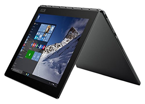 Lenovo ZA0W0184DE 25,6 cm (10,1 Zoll) YB1-X90FL Yoga Convertible Tablet-PC (Intel Atom x5-Z8550, 4GB RAM, Intel HD Graphics, Android 6.0) schwarz