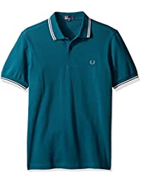 polos fred perry mm3600 vert