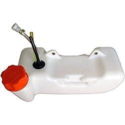 GT Garden Réservoir d'essence pour débroussailleuse, Multifonction 4 en 1, Outil sur Perche et tarière 1 Personne