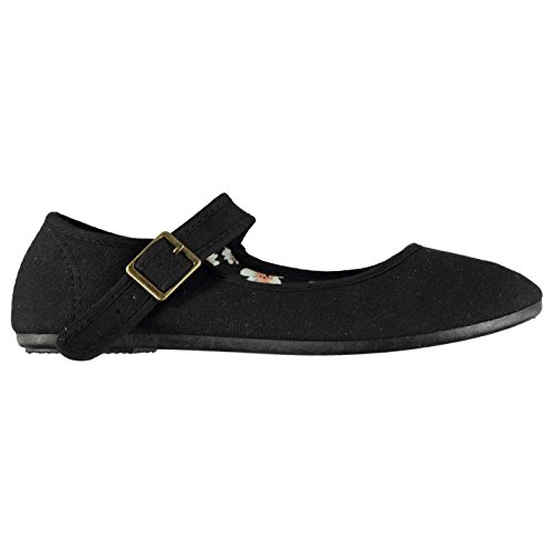 Slazenger Mujer Zapatillas Merceditas De Lona Mary