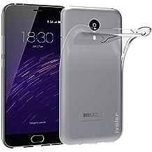Meizu M2 Note Funda, iVoler TPU Silicona Case Cover Dura Parachoques Carcasa Funda Bumper para Meizu M2 Note, [Ultra-delgado] [Shock-Absorción] [Anti-Arañazos] [Transparente]- Garantía Incondicional de 18 Meses