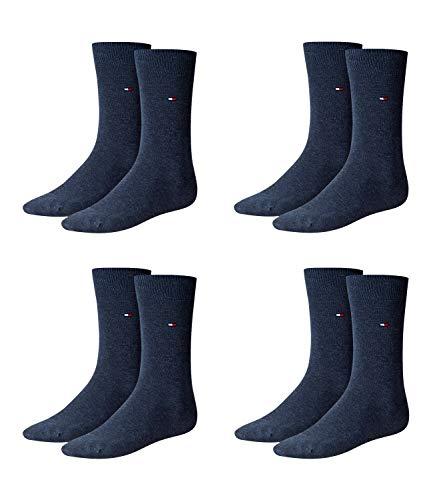 Tommy Hilfiger Herren Classic Business Socken 371111 4Paar, Farbe:Blau;Sockengröße:43-46;Artikel:Socken jeans 371111-356