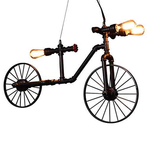 Retro Industrie Bügeleisen Shui Feng Rohr Fahrrad Café Restaurant Bar Clothing Store Deko Kronleuchter Personalisierte Licht (Einstellbare Höhe Hängenden Linie) Kronleuchter Beleuchtung