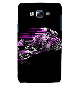 PrintDhaba CONCEPT BIKE D-6555 Back Case Cover for SAMSUNG GALAXY J7 (Multi-Coloured)
