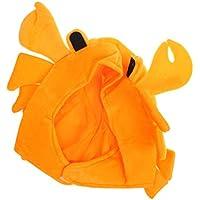 Envío GRATIS en pedidos elegibles. F Fityle Lindo Cangrejo Vida Marina  Fantasía Sombrero Sombrero Traje Halloween Halloween Máscara f17af6a3faa