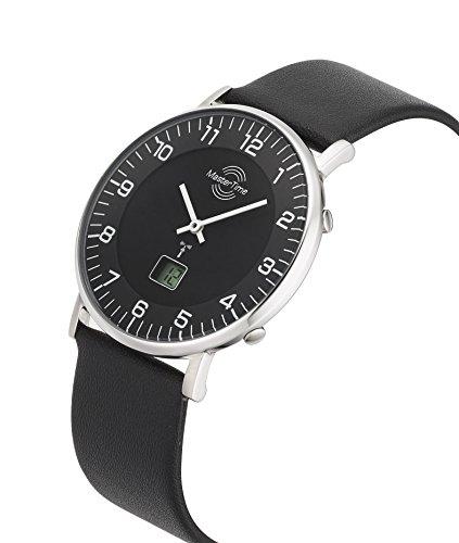 Master Time Funk Quarz Damen Uhr Analog-Digital mit Leder Armband MTGS-10560-22L - 2
