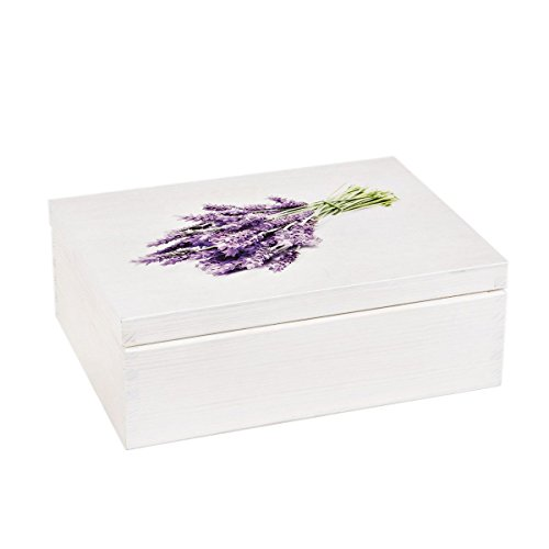 white-wooden-box-with-lavender-bouquet-on-the-lid