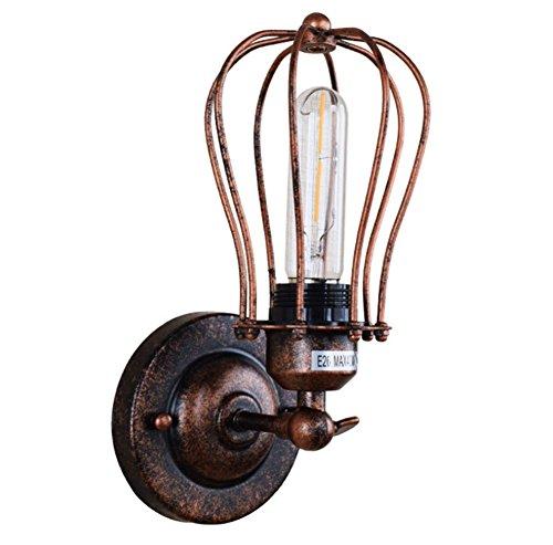 PLYY Retro- industrieller Wind führte Wandlampe kreatives...