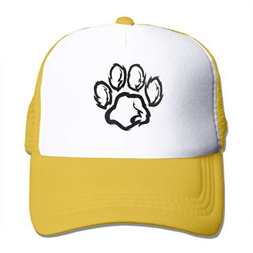 Black Paws Coole Snapback Cap Fit Cap für Herren und Damen