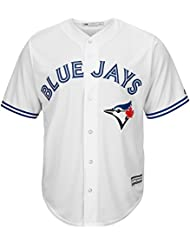 Majestic toronto jays cool blue base de maillot de baseball mLB domicile