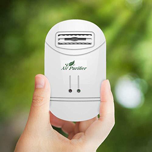 Cinnamou Mini purificatore d'Aria detergente Deodorante Plug-in Odore Filtro dell'Aria Filtro fumi Odore batteri eliminatore di polveri Polvere