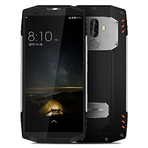 CampHiking Blackview BV9000 Pro Smartphone, 5,7 Zoll (5,7 Zoll), 18: 9, HD, Full Screen, IP68, wasserdicht, 4 GB RAM, 64 GB ROM, Helio P25, 8 Core 4180 mAh, 13 MP + 5 MP, NFC 4G