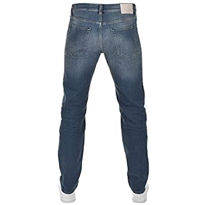 Mens Blue HUGO BOSS Green C Maine1 Jeans Blue