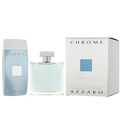 AZZARO CHROME EDT 100 ML + S/G 200 ML SET REGALO