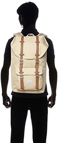 Little America Backpack Khaki/Tan Synthetic Leather Backpack