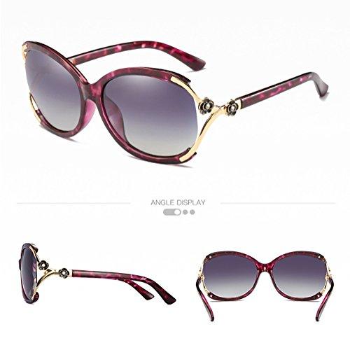 Cj occhiali da sole polarizzati occhiali da sole classici con montatura grande e occhiali da sole, 013