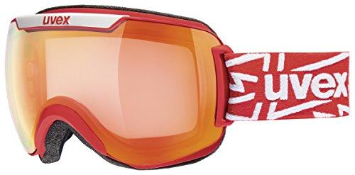 UVEX Skibrille downhill 2000 VM,VLM (Vario-light-mirror), Rot (Red Mat/Ltm Red)