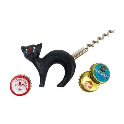 design-toscano-sp92310-chat-noir-ouvre-bouteille-avec-tire-bouchon