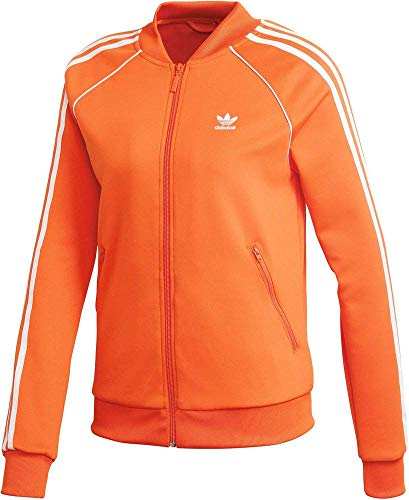 adidas Damen SST TT Jacket, orange, 40
