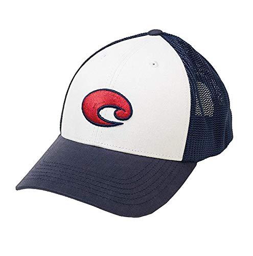 Costa Del Mar Chesapeake Stretch Trucker Hat, Herren, weiß, Einheitsgröße