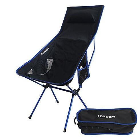 Lightweight Folding Camping/Beach Chair,Fbsport Compact & Heavy Duty (Supports 330